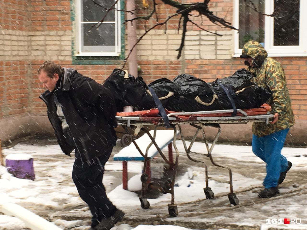 Жертвами взрыва стали два человека