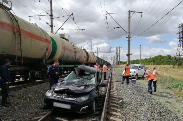 Водитель в результате ДТП погиб на месте происшествия