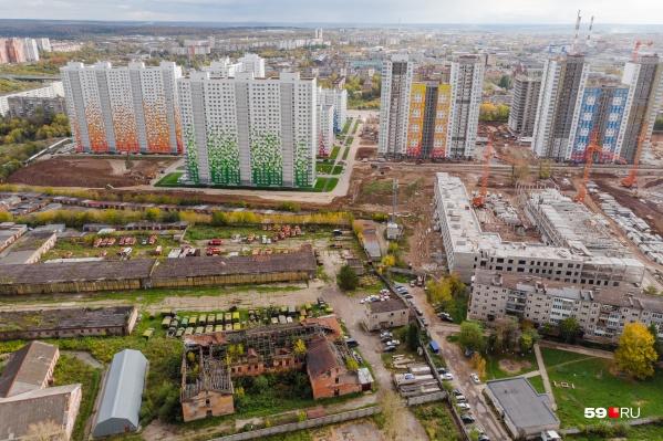 Имущество, которое приобрел предприниматель из Калуги, находится в Красных казармах
