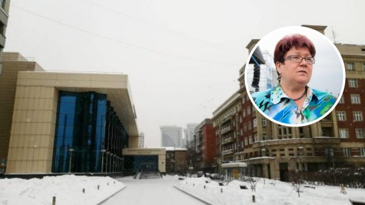 Министр культуры НСО ушла на больничный. Две недели назад ее критиковали за скандальную церемонию без масок