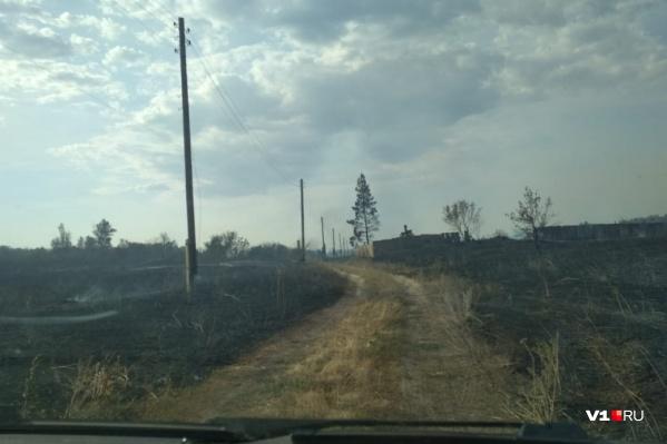 Огонь в хуторе вспыхнул в полдень 8 июля