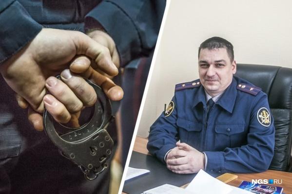 В прошлом году мужчину задержала полиция во время передачи денег