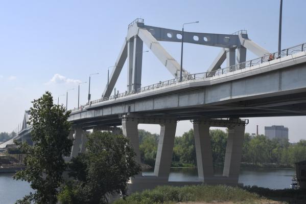 Рабочее движение через реку Самару запустили в декабре 2019 года