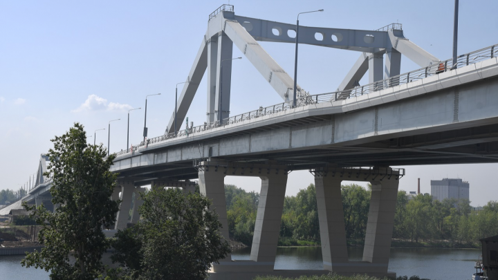 Стало известно, когда откроют развязки на Фрунзенском мосту