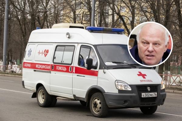 Депутату Анатолию Грешневикову стало плохо в ночь с 27 на 28 мая