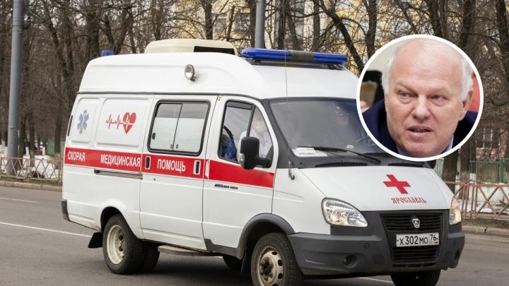 Депутата Госдумы Анатолия Грешневикова госпитализировали в Ярославле