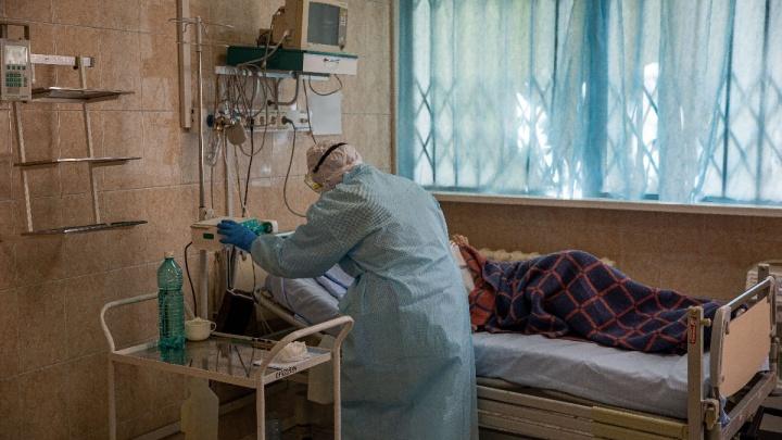 Красноярский край обновил рекорд по проценту летальности от коронавируса