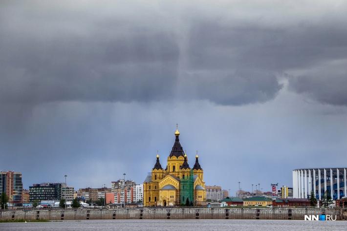 В Нижегородской области в течение суток ожидаются грозы и сильные дожди