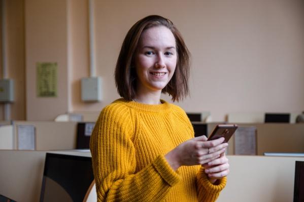 Елизавета Попова разрабатывает программу для исследования места происшествия с использованием виртуальной реальности