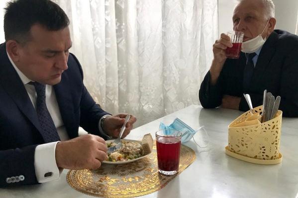 По словам Сергея Кузнецова, у него нет нареканий к школьному питанию
