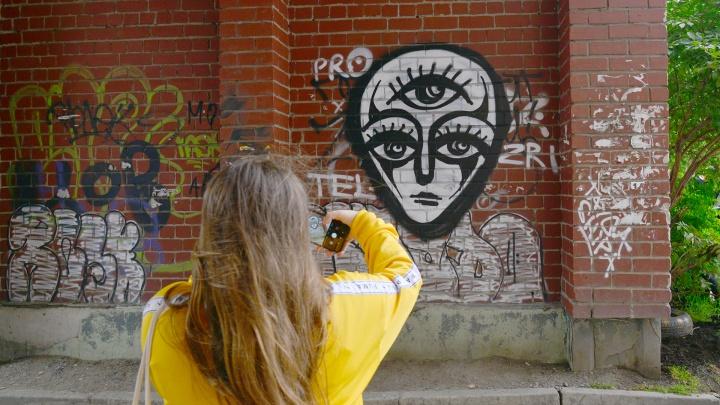 Петербургские исследователи стрит-арта изучили архангельские граффити