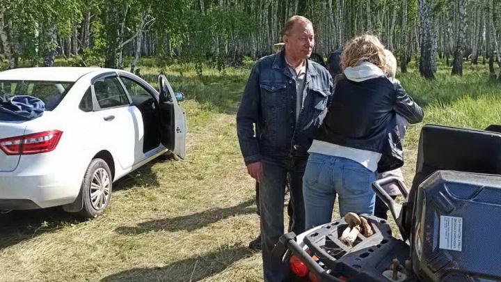 Спасатели нашли челябинку, пропавшую во время поездки с мужем за грибами