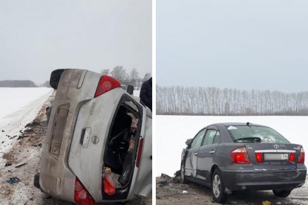 ДТП произошло на дороге между Маслянино и Черепаново