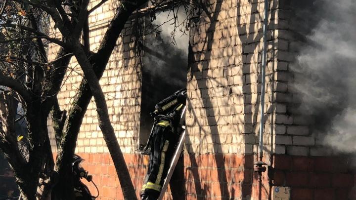 Три человека погибли на пожаре в Нижнем Новгороде