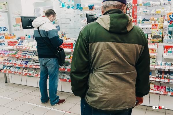 Мужчины успели ограбить 4 аптеки