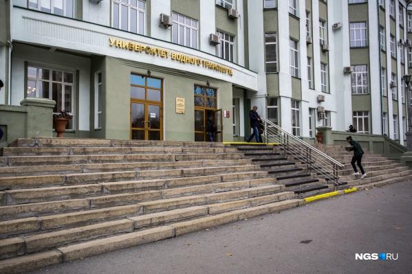 Молодой человек учился на четвёртом курсеСибирского государственного университета водного транспорта