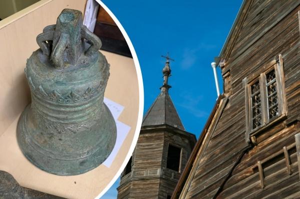 Старинный колокол хотят отвезти в Барабаново, где есть уникальный храм 1856 года постройки