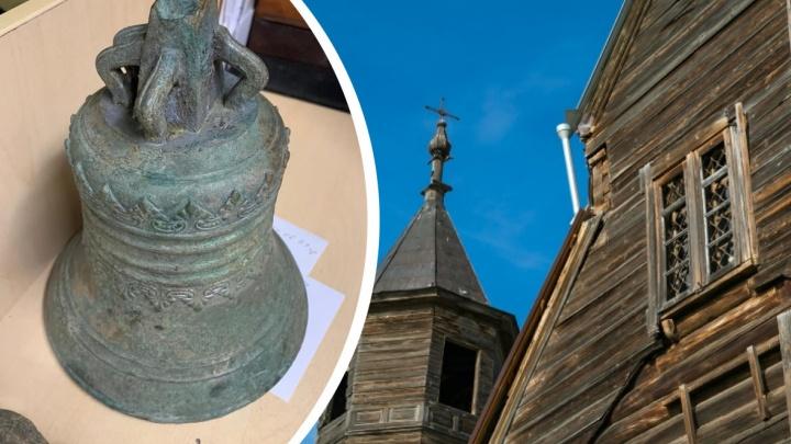 Сельский священник за 15 минут собрал деньги на транспортировку колокола XIX века