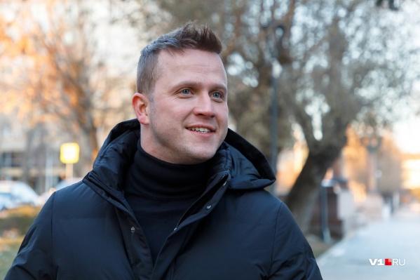Волгоградец Евгений Банифатов приехал в Волгоград навестить родных и встретиться со студентами ВГИИКа