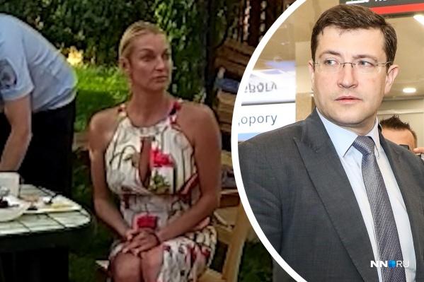 Анастасия Волочкова не очень вежливо общалась с представителями власти