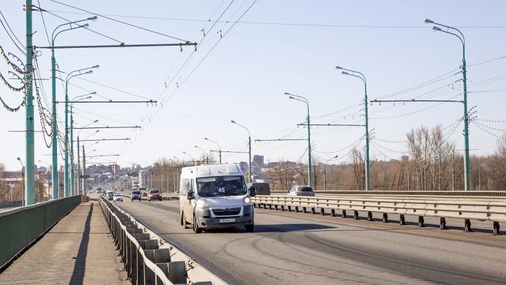В Ярославле частично перекроют Октябрьский мост: когда и почему введут ограничения