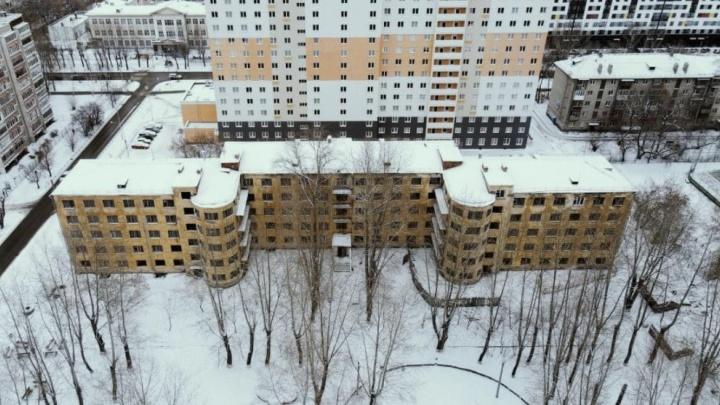 В УрФУ объяснили, зачем строить новое здание на месте старого красивого общежития во Втузгородке