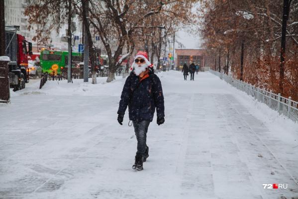 Кажется, новогоднее настроение тюменцев не сломить даже пандемией