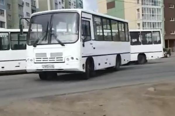 Прибывшие в Челябинск ПАЗы уже ездили в Твери