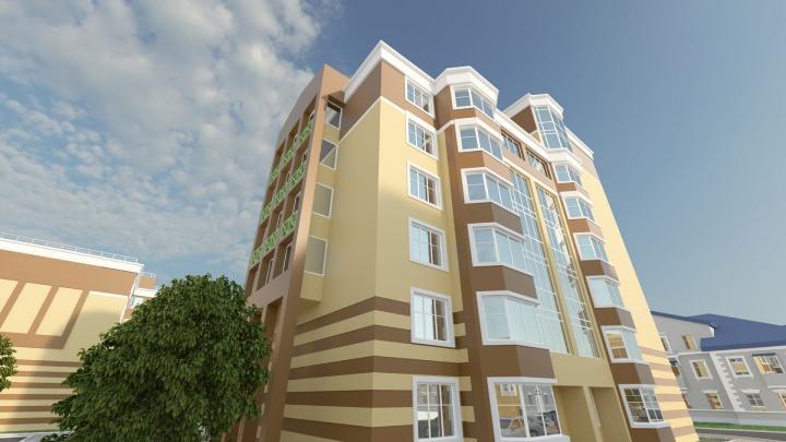 В Калининском районе строят уютный комплекс комфорт-класса, в нем всего 100 квартир