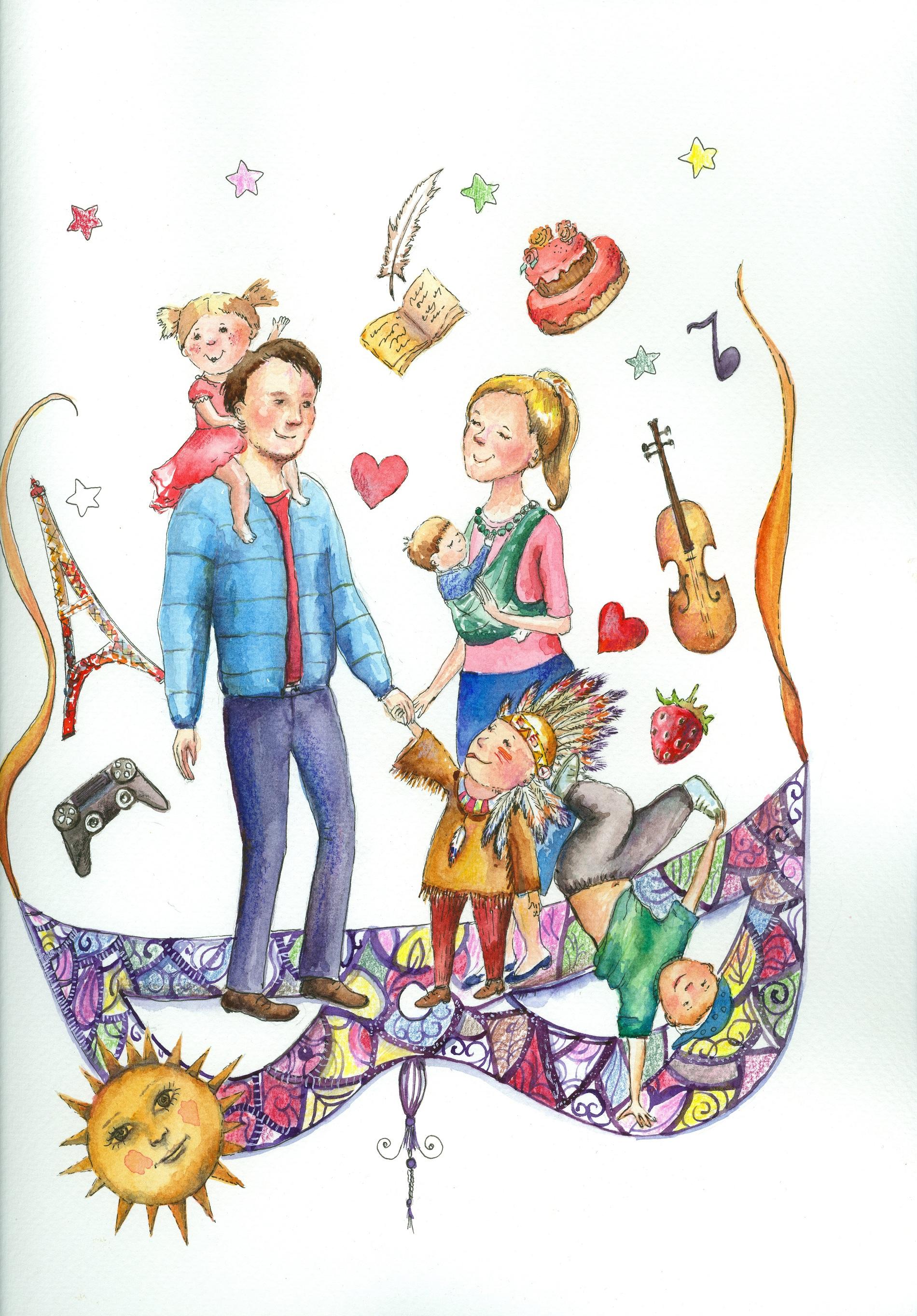 Иллюстрация к главе «Братья и сестры»