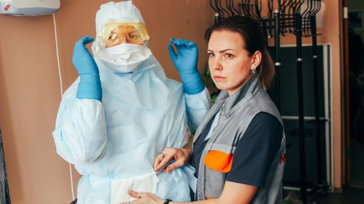 Новосибирских медиков, которые наблюдают жителей на карантине, будут возить на такси