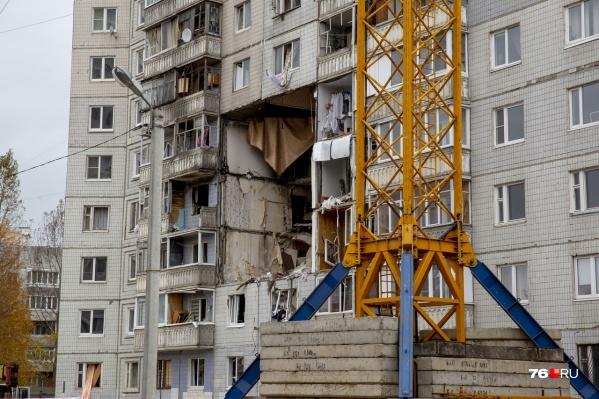 В начале октября дом признали аварийным