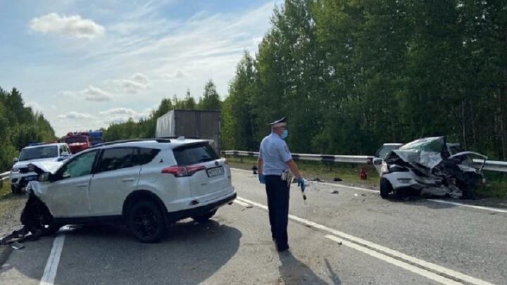 Уснувший за рулем водитель устроил смертельное ДТП на Серовском тракте