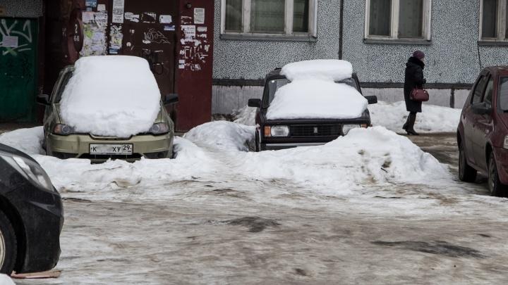 Летом в Архангельске благоустроят на десять дворов меньше, чем планировалось