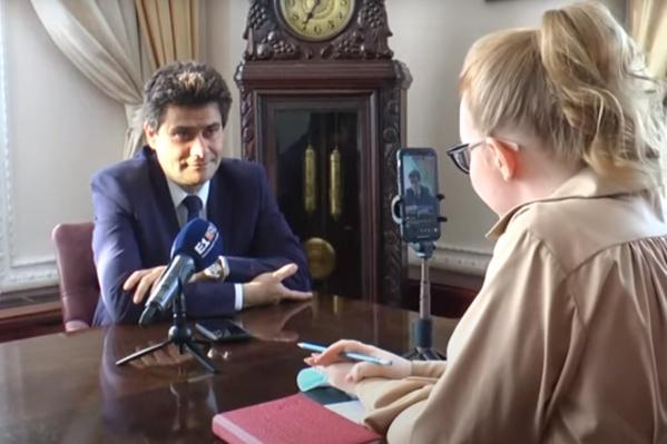Александр Высокинский рассказал о выходе из режима самоизоляции