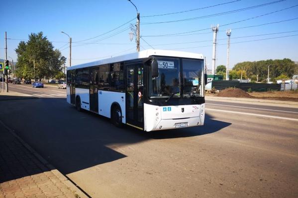 За рулем 50-го автобуса ездят любители скорости
