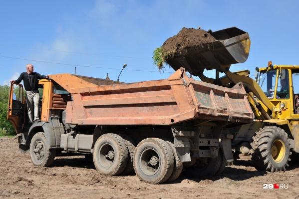 """За почти 4,5 года мужчина похитил <nobr class=""""_"""">36 509</nobr> кубометров песка"""