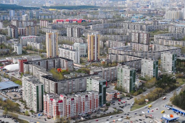 В Ленинском районе среди положительного — много зелени