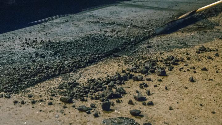 В Самаре нерадивого подрядчика обязали заменить асфальт на Высоковольтной