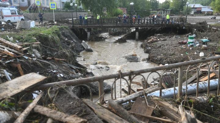 Заместитель генпрокурора РФ взял на контроль проверку после наводнения в Нижних Сергах