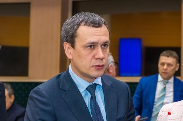 Дмитрий Кочергин работает в правительстве уже 1,5 года