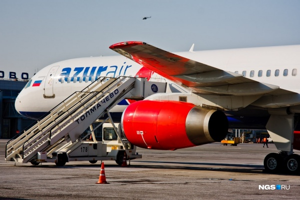 Авиакомпания AZUR air возила новосибирцев на Гоа