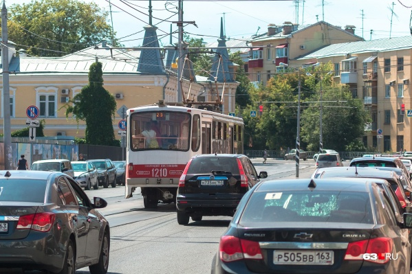 Трамваи подадут на Галактионовскую, автобусы — на Самарскую