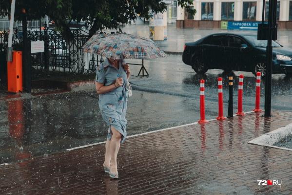 Погода в Тюмени стремительно меняется