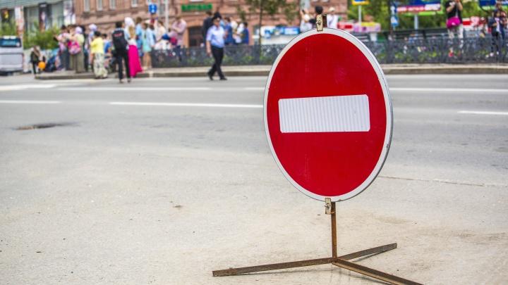 В Кемерово на три месяца перекроют две полосы на проспекте Ленина