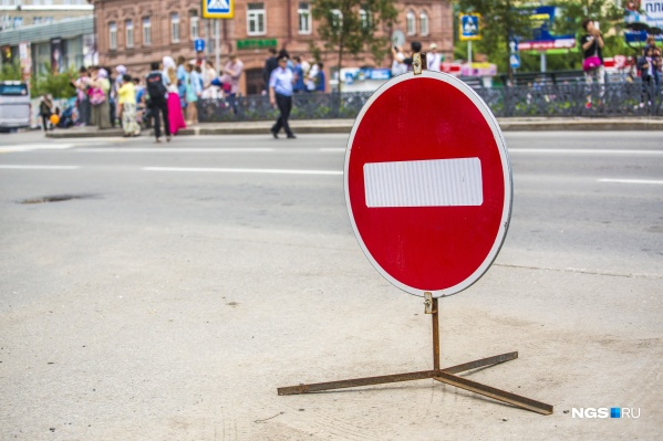 Из-за ремонта тепломагистрали будет перекрыт перекрёсток и две полосы на проспекте Ленина
