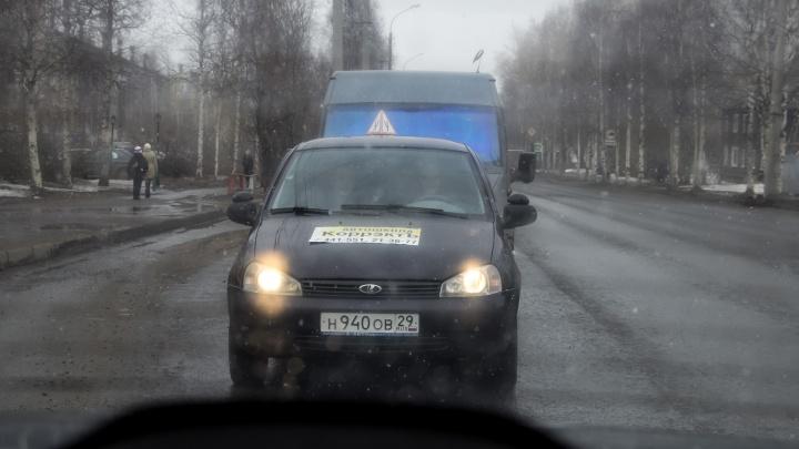 На юге Архангельской области вечером 15 октября ожидается сильный и мокрый снег