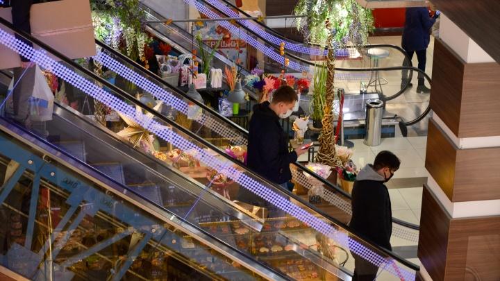В Архангельской области детям разрешат посещать торговые центры безродителей