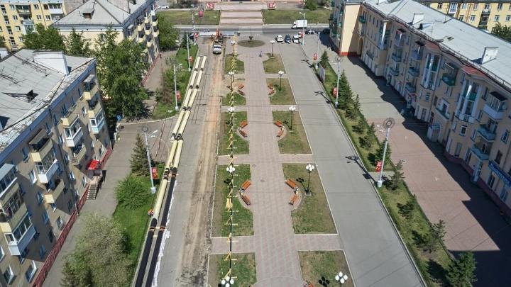 Новая тепловая магистраль в Ленинском районе прослужит без ремонта минимум 30 лет