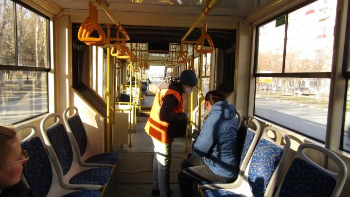 Общественный транспорт Самары перевели на работу по спецрасписанию